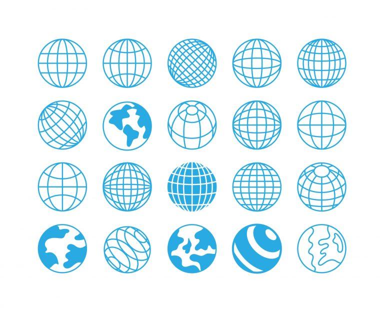 Globus ikoner
