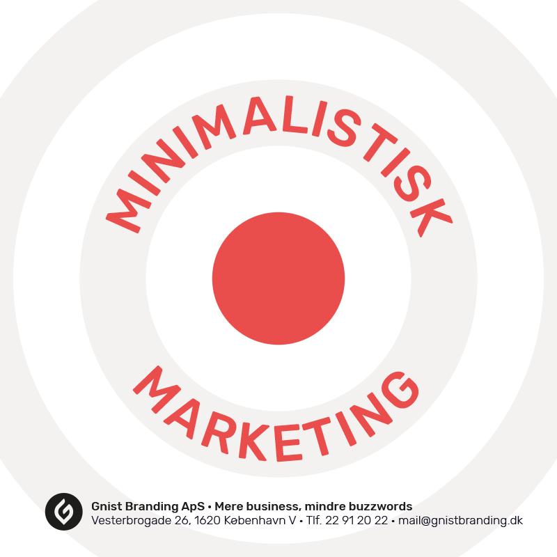 Minimalistisk Marketing