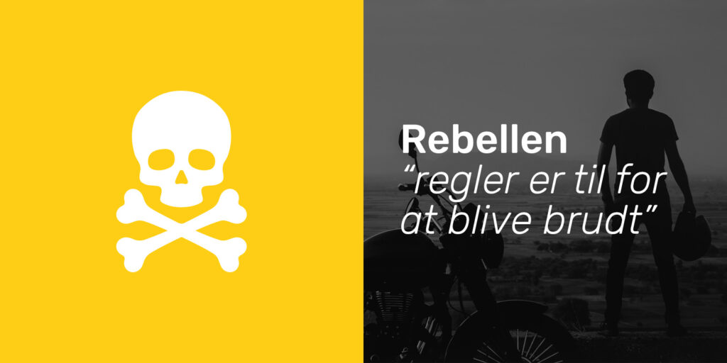 Rebellen brandarketype